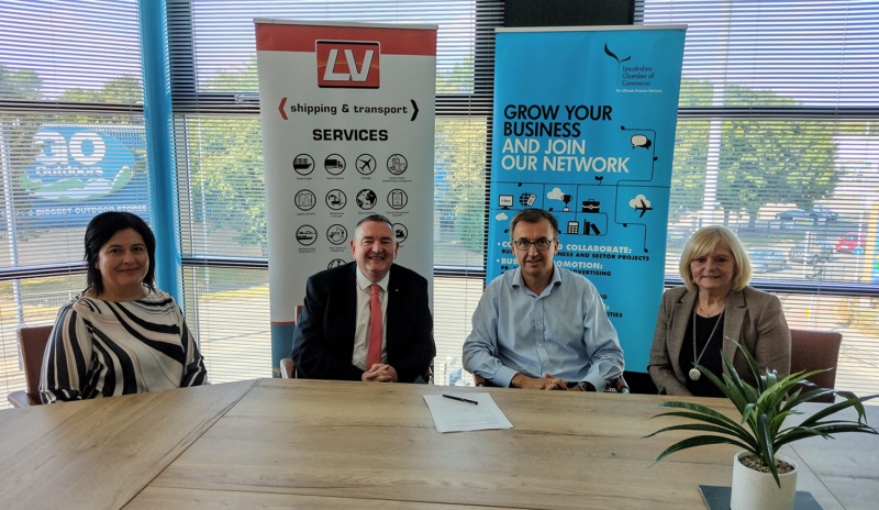 Chamber and LV Shipping Team for strategic partner Picture
